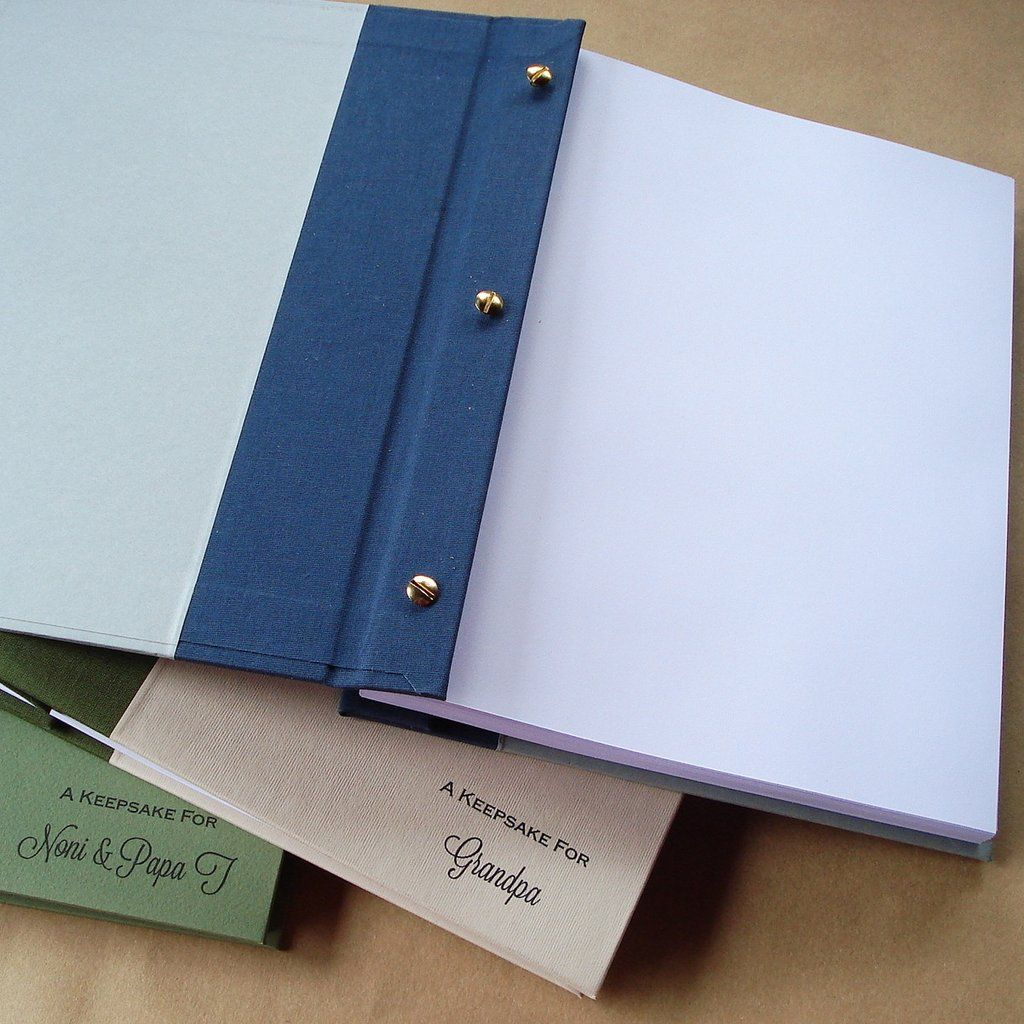 custom post album w refillable pages post bound scrapbook