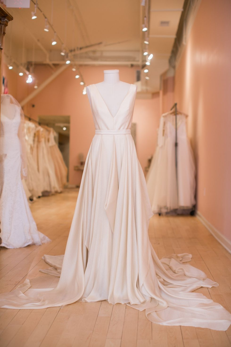 2c42457dc Azurite - Carol Hannah Bridal - lovely bridal shop philadelphia - Old City  wedding Photography