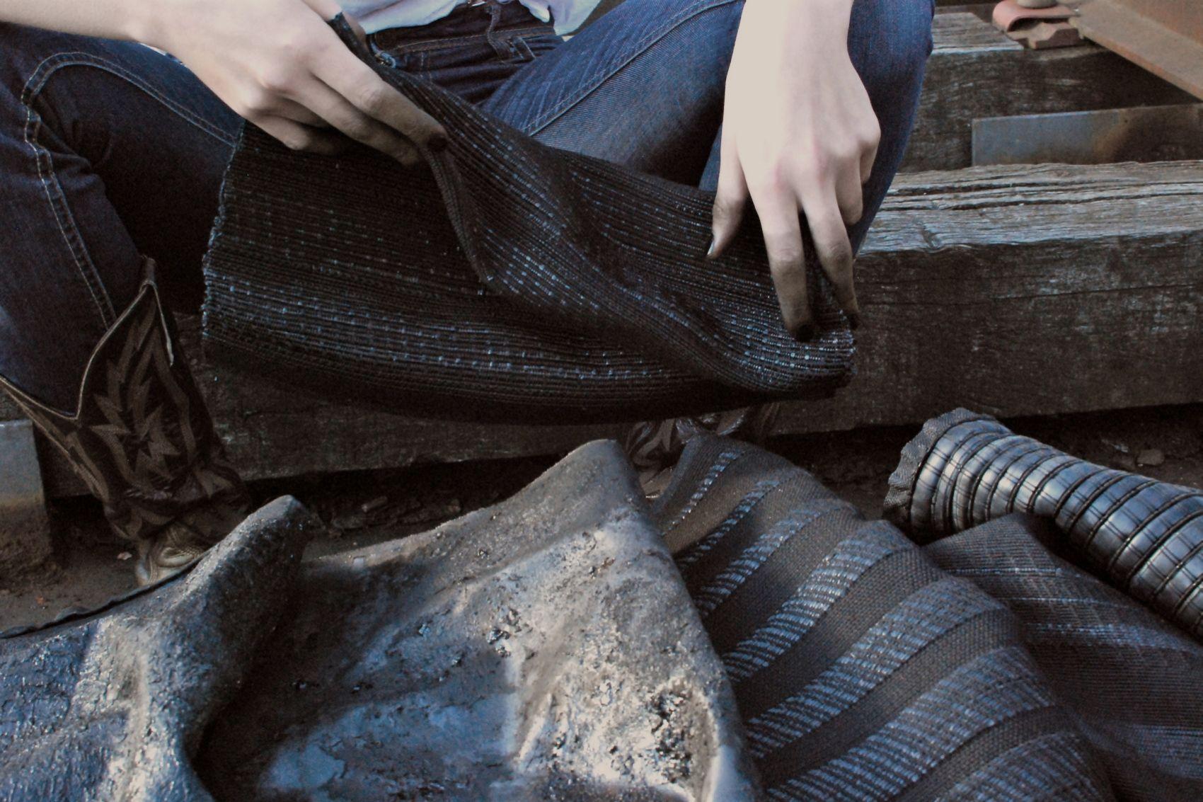 weaving eva bellanger textiles dma degree collection fabrics. Black Bedroom Furniture Sets. Home Design Ideas