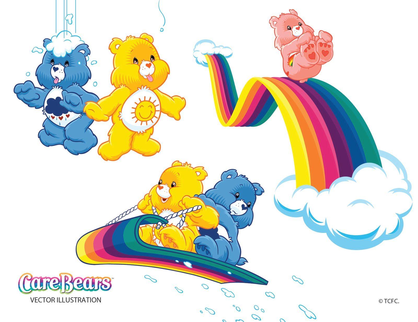 Glücksbärchis, Care bears, Bär