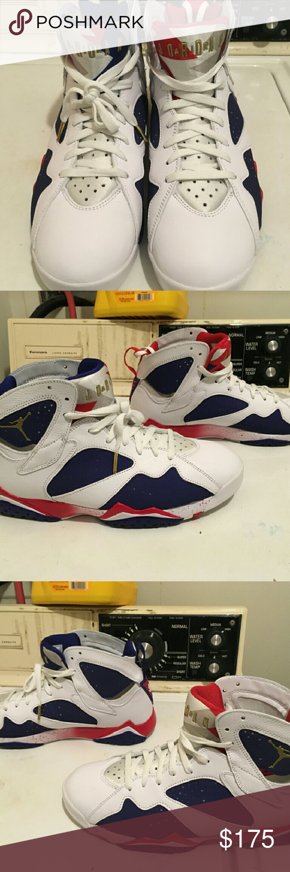 ed906a957d94 Air Jordan Retro 7 Olympics Never worn outside of Foot Locker Jordan Shoes  Sneakers