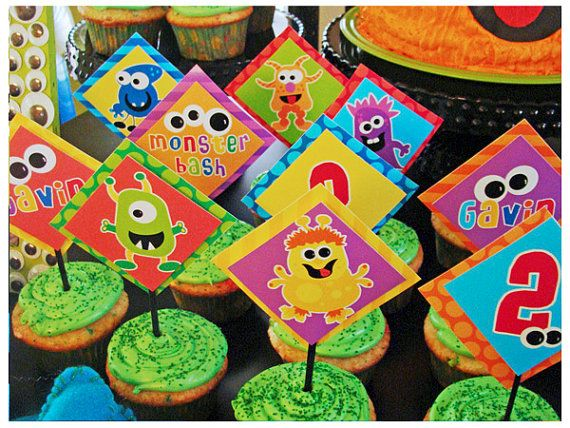 $29 Etsy New Collection - Monster Bash Printable Birthday - HUGE Party Set by Shindig Parties TO GO