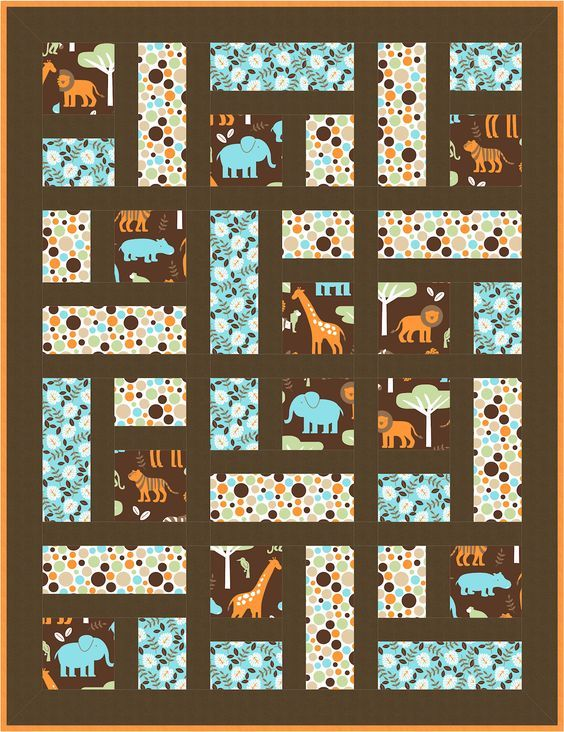 Menagerie Quilt Pattern. Free Download - coming soon! Make it in 4 ... : quilt patterns free download - Adamdwight.com