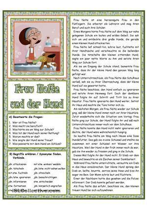 frau nolte und der hund n metes deutsch lernen deutsch lesen und deutsch unterricht. Black Bedroom Furniture Sets. Home Design Ideas