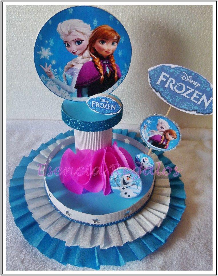 Centro de mesa frozen centro de mesa doctora juguetes for Centros de mesa de frozen