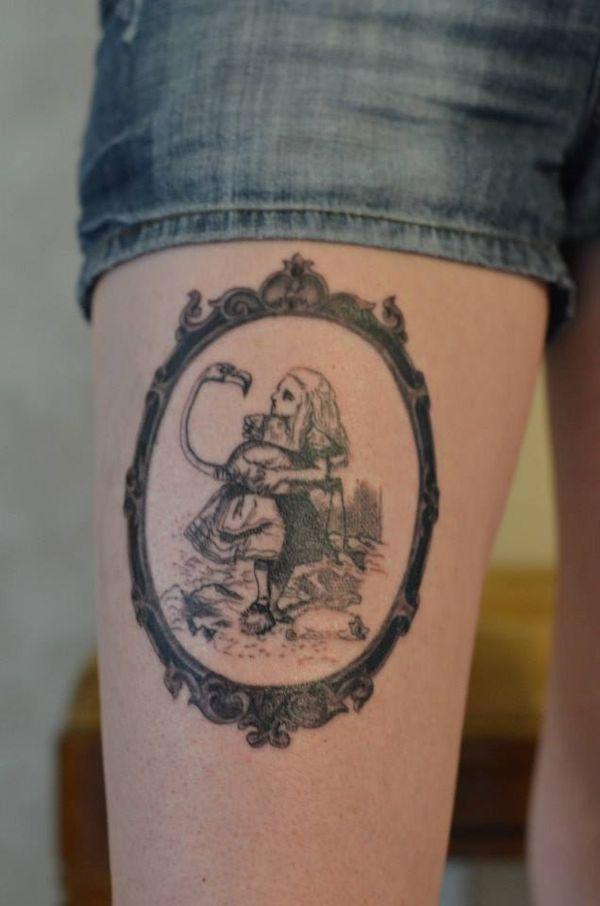 100+ Best Alice In Wonderland Tattoos | Pinterest