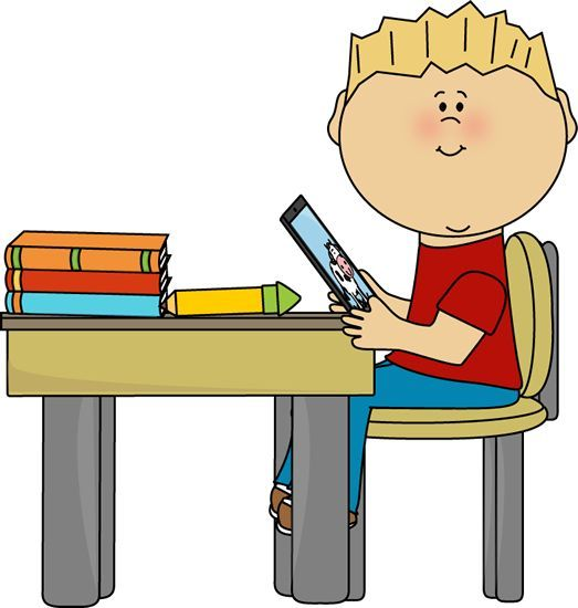 boy sitting at desk clipart classroom bulletin pinterest rh pinterest com clip art desk modern clip art desk chair