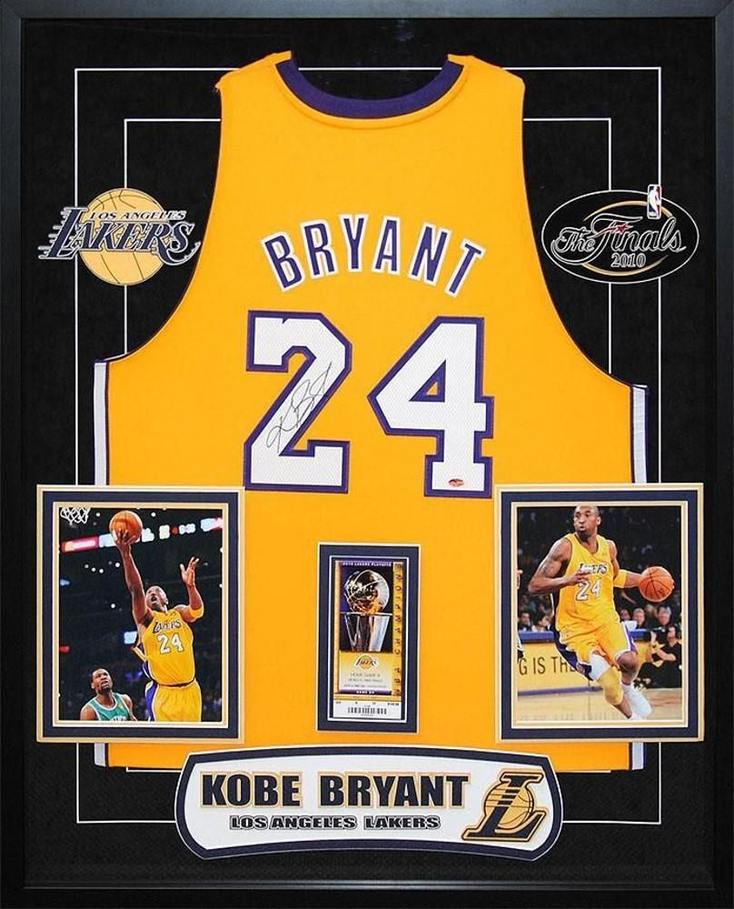 Kobe Bryant - Signed Lakers NBA Basketball Jersey | Equipo de ...