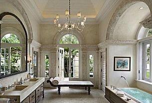 Great Traditional Master Bathroom