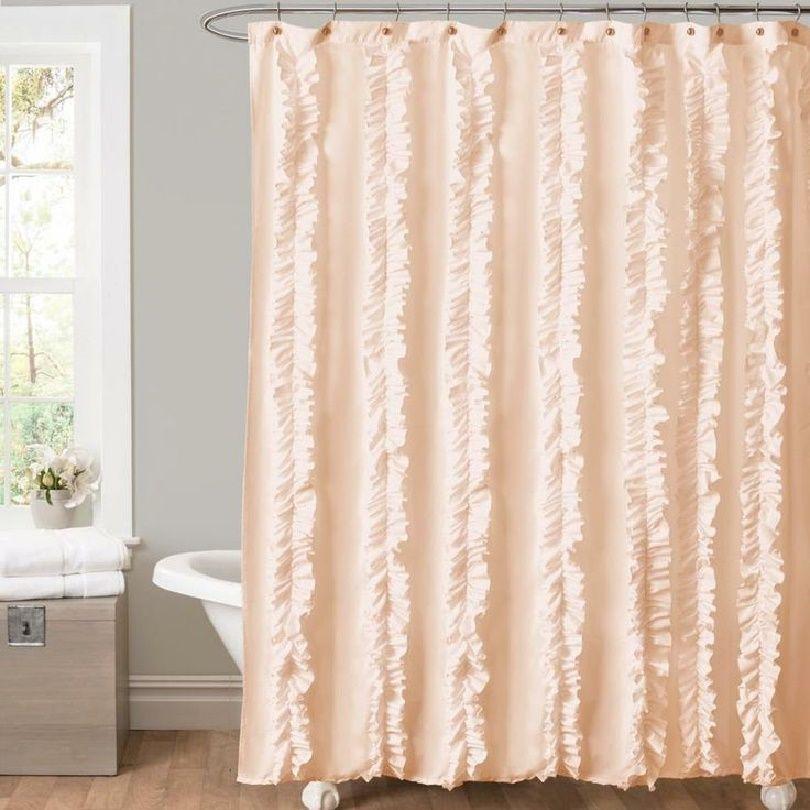 Peach Colors Peaches Shower Curtains Showers