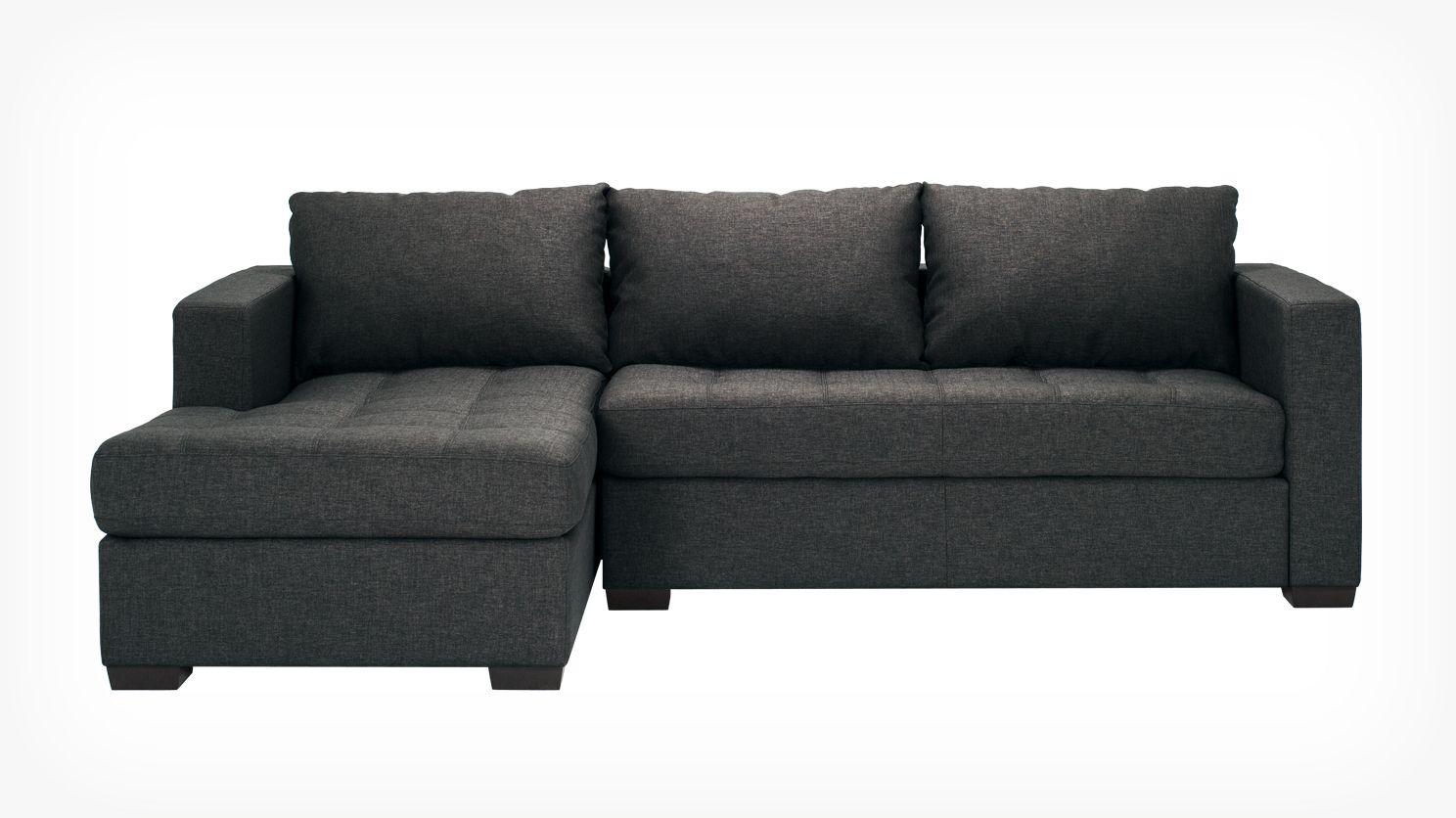canap modulaire deux pi ces avec m ridienne porter. Black Bedroom Furniture Sets. Home Design Ideas