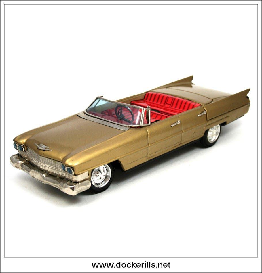 Cadillac Gear Shift Car Bandai Japan Photo 4 Of 4 Vintage Tin