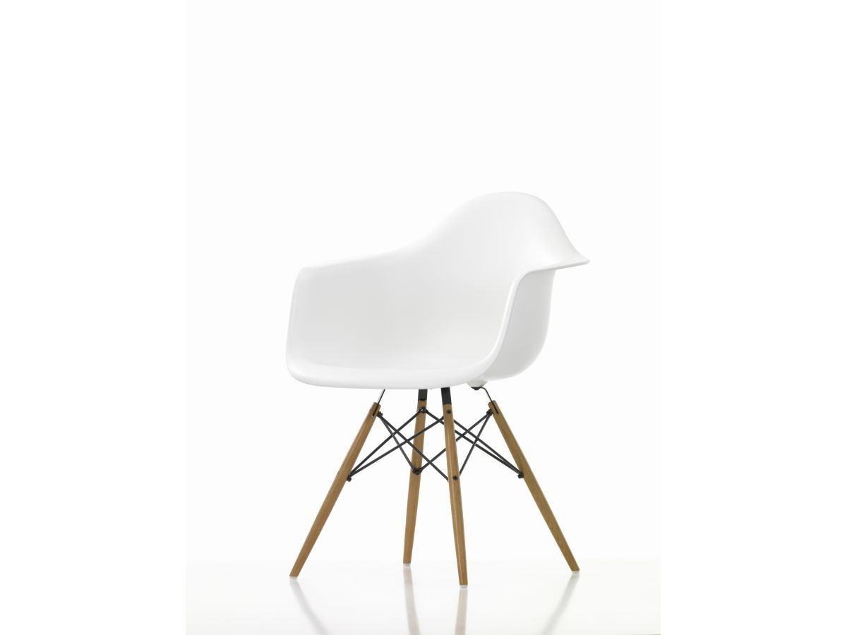 teo jakob design furniture chairs charles ray eames eames plastic armchair daw weiss - Fantastisch Tolles Dekoration Charles Eames Schaukelstuhl