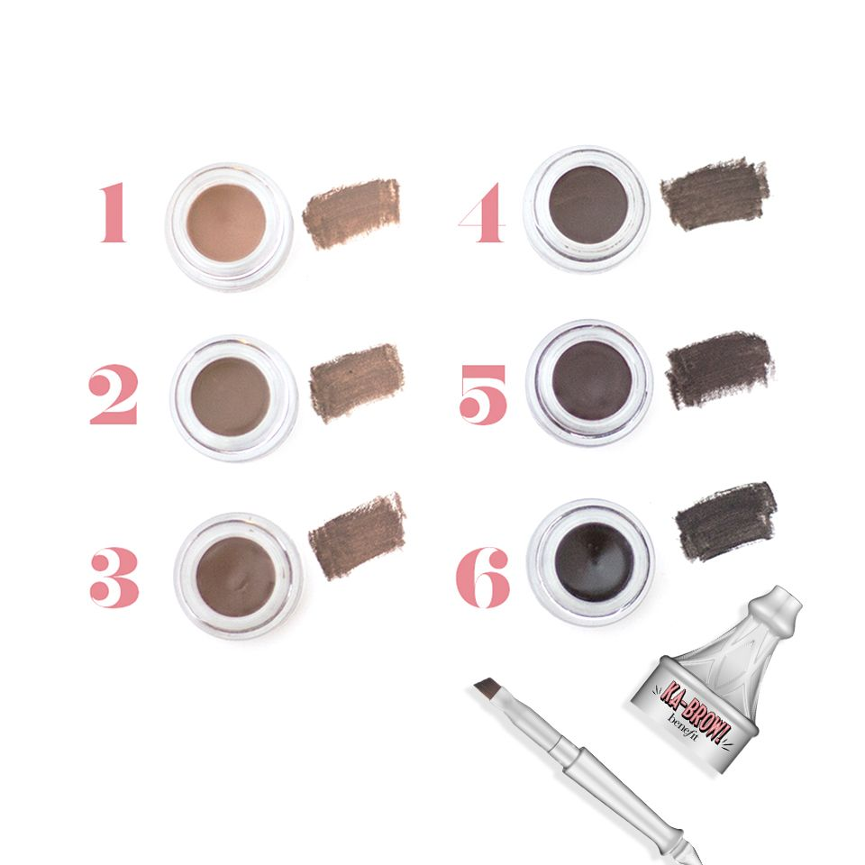 Shades For Days Brush On The Rich Buildable Color Of Ka Brow An