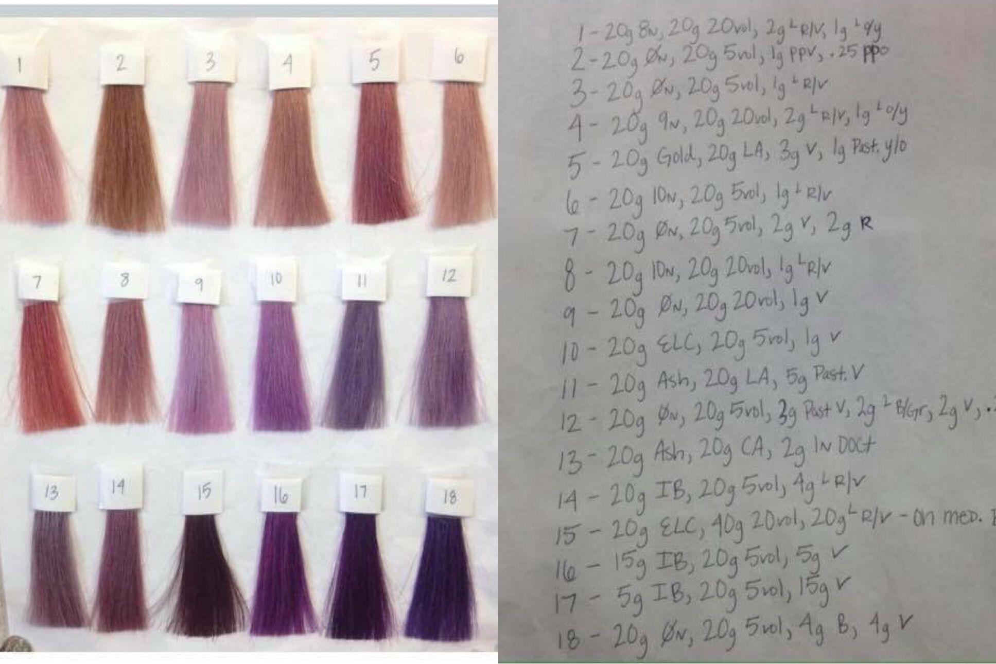 Pin By Aliya Jonic On Aveda Aveda Hair Color Aveda Color Hair Color Chart