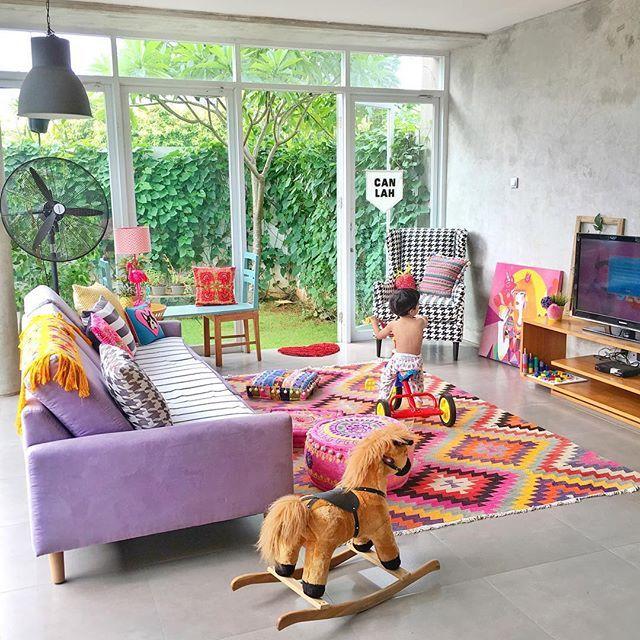 Diana Rikasari Ina Sg My On Instagram Bidibidibongbong Rumah Dekorasi Instagram Littlebigbell style kid39s room on