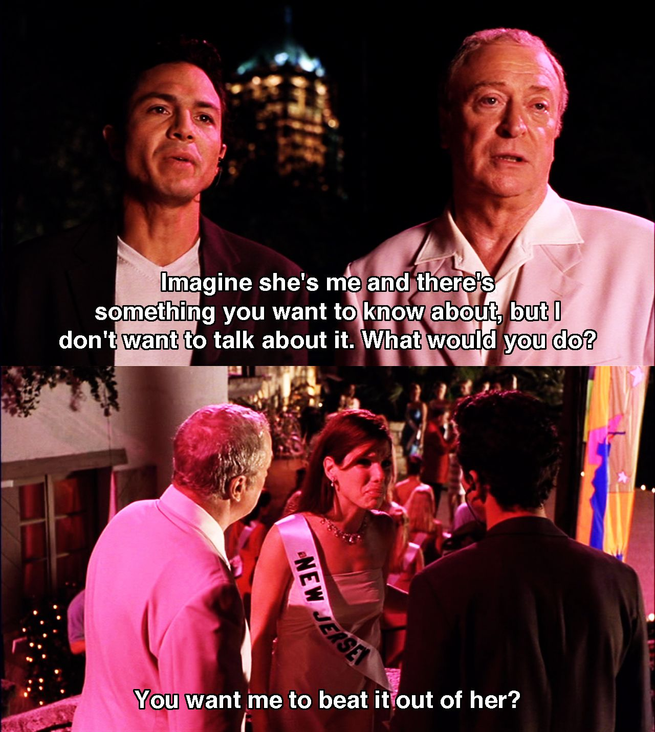 What would you do? ~ Miss Congeniality (2000) ~ Movie Quotes ...
