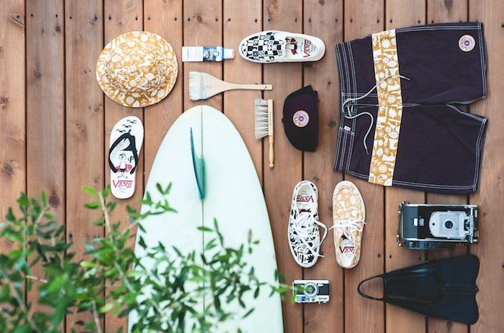 Scarpe e Moda Vans in una capsule collection a tema Surf 2016 scarpe Vans Surf capsule collection