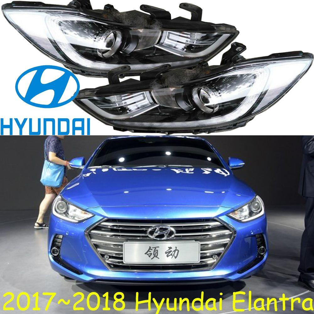 Car Styling Elantra Headlight Md Avante 2012 2017free Ship Elantra Fog Led Tucson Santa Fe Ix45 Ix35 Elantra Head Light Veracrus Elantra Car Lights Car