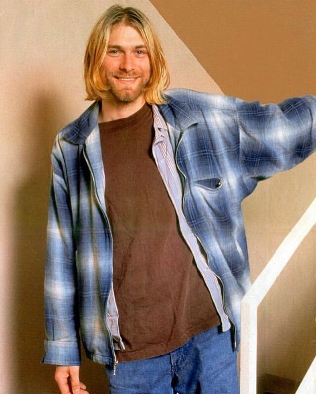 Kurt Cobain, 1993.