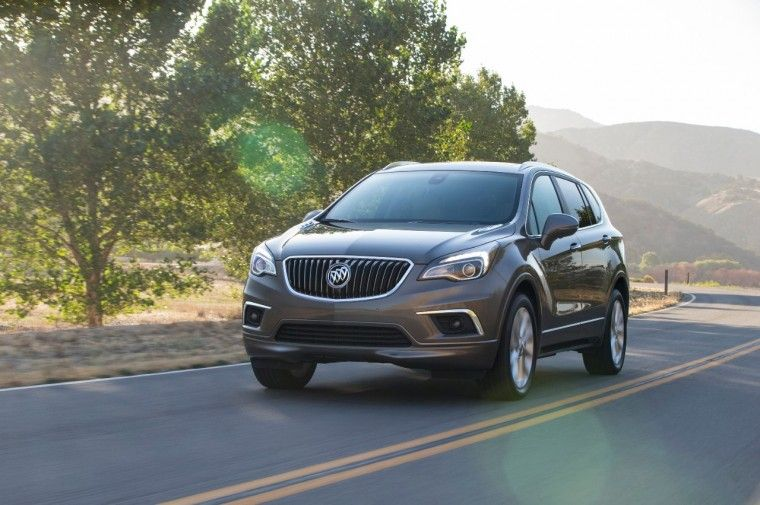 [Photos] 2016 Buick Envision Confirmed for US Next Year