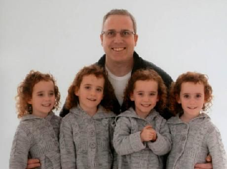Britains Only Identical Quadruplets Prepare For School Swnscom