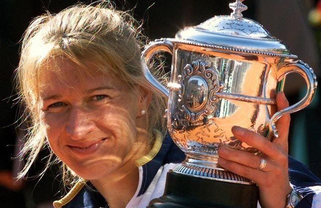 Steffi Graf Steffi Graf French Open Martina Hingis
