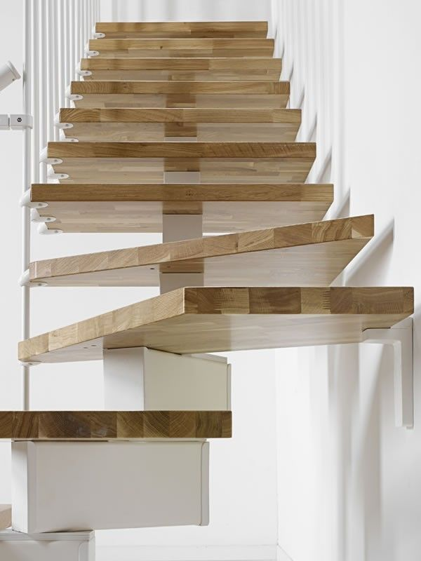 Fontanot Oak 90 Adjustable Modular Stair Kit    Available In 3 Width Sizes:  700mm