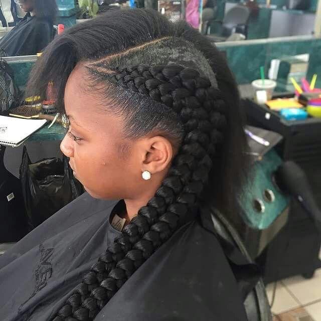 Double French Braids Natural Hair Braids Natural Hair Styles Girls Hairstyles Braids
