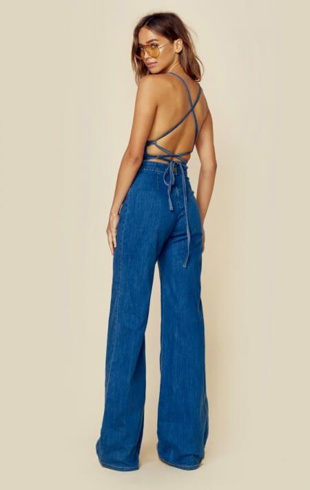 3784a3cdbb36 Stoned Immaculate New Jean Genie Jumpsuit