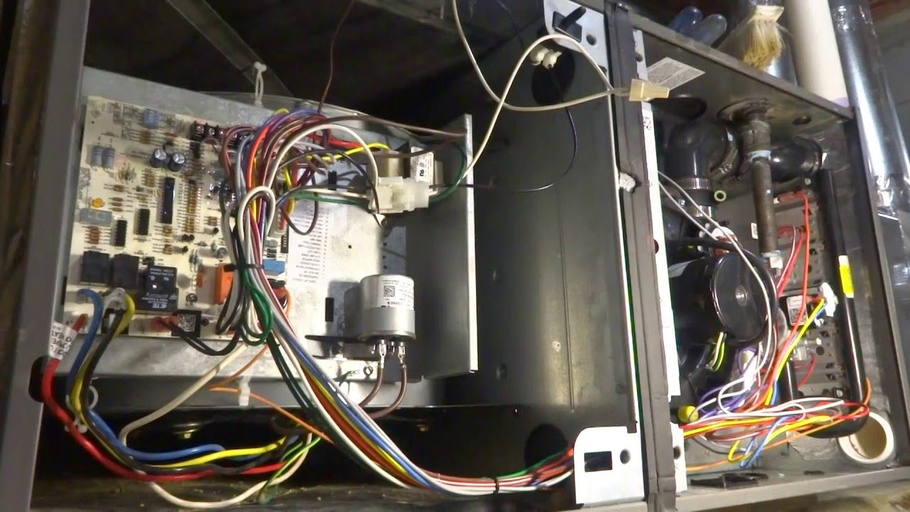 New Ruud Gas Furnace Blower Fan Not Working Gas Furnace Blower Fans Furnace