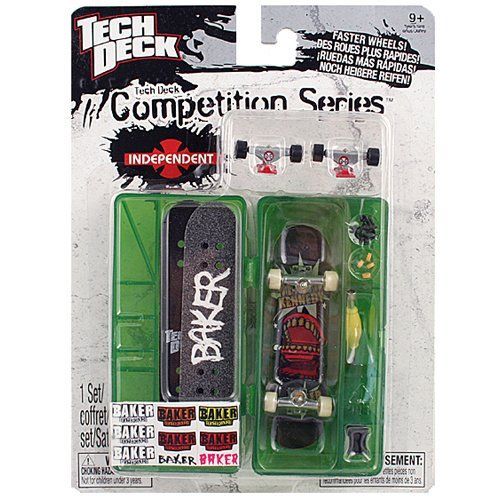 Tech Deck Competition Series [Baker Skateboards] $10 33 (31
