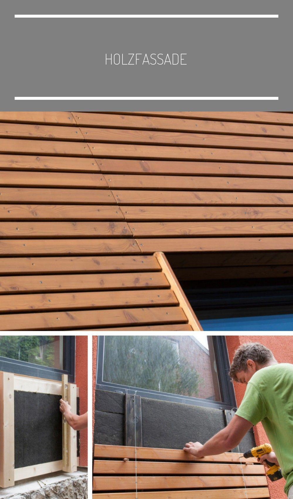 Holzfassade In 2020 Gevel Houten Gevelbekleding Gevelbekleding