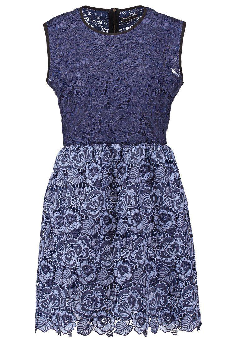 Sportmax Code Cocktailkleid / festliches Kleid - blau ...