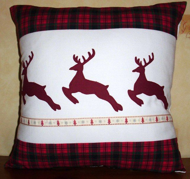 cojin navideño | Navidad | Pinterest | Cojines navideños, Navidad y ...