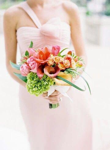 Calas, rosas, hortensias...