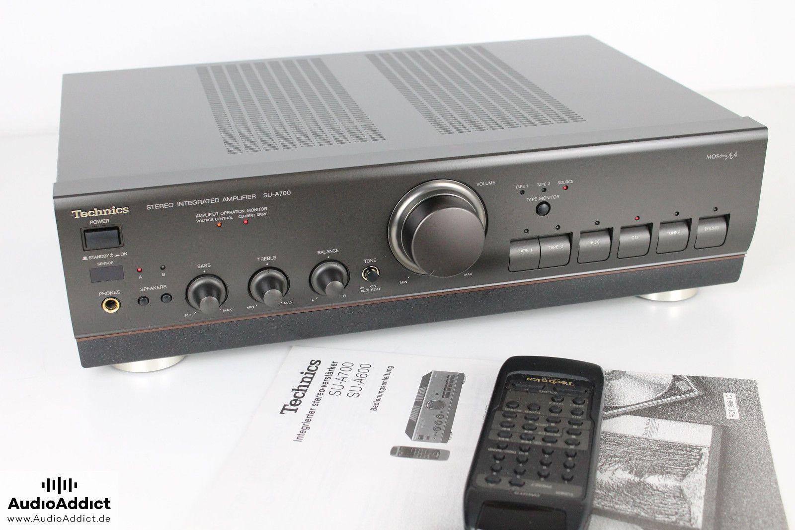 technics su a700 vollverst rker amplifier manual remote rh pinterest com Vintage Technics Amplifier Technics Receiver