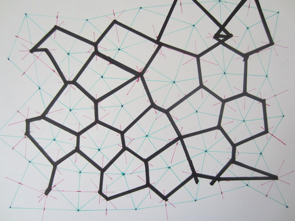 Hand Drawn Voronoi Diagrams Pinterest Diagram Picture Of