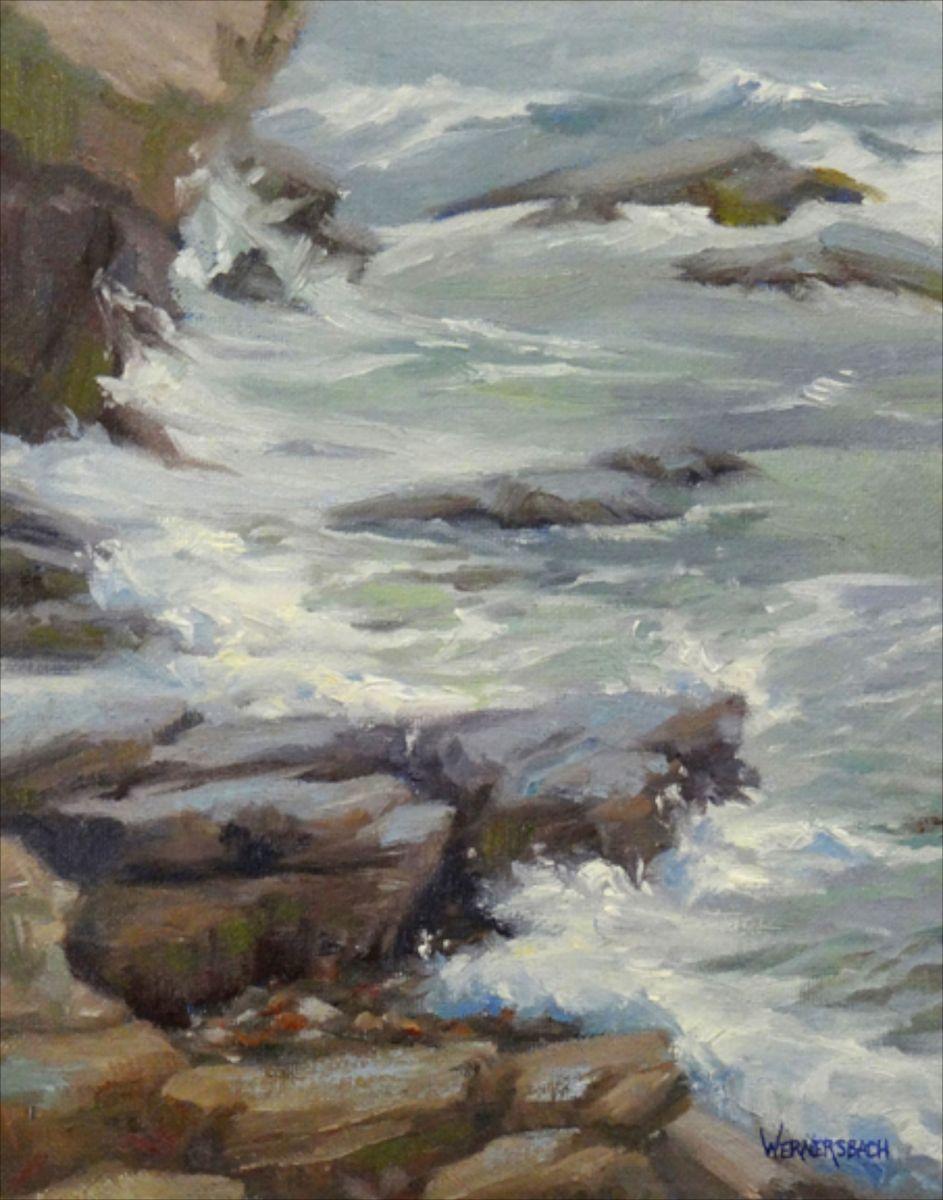 Stormy Coast, Maine
