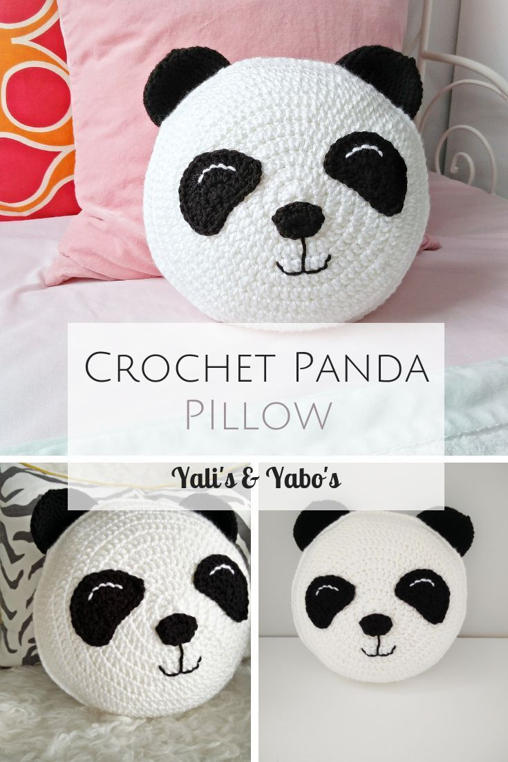 Panda / panda pillow/ panda toy / panda gifts / black and white nursery / panda nursery decor/ Panda bear / Panda Baby / Throw PIllow #babypandabears