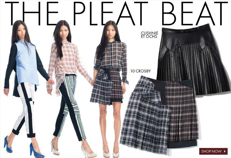 Cushnie Et Ochs & The Pleat Beat | Moda Operandi