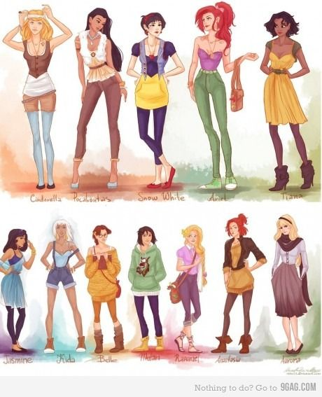 hipster princesses..too cool for words. Too bad they're hipsters now I have to hate them, right?
