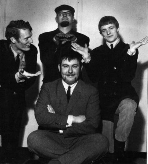 The Graham Bond Organisation- Bond (organ), Ginger Baker (drums), John McLaughlin (guitar), Jack Bruce (bass)