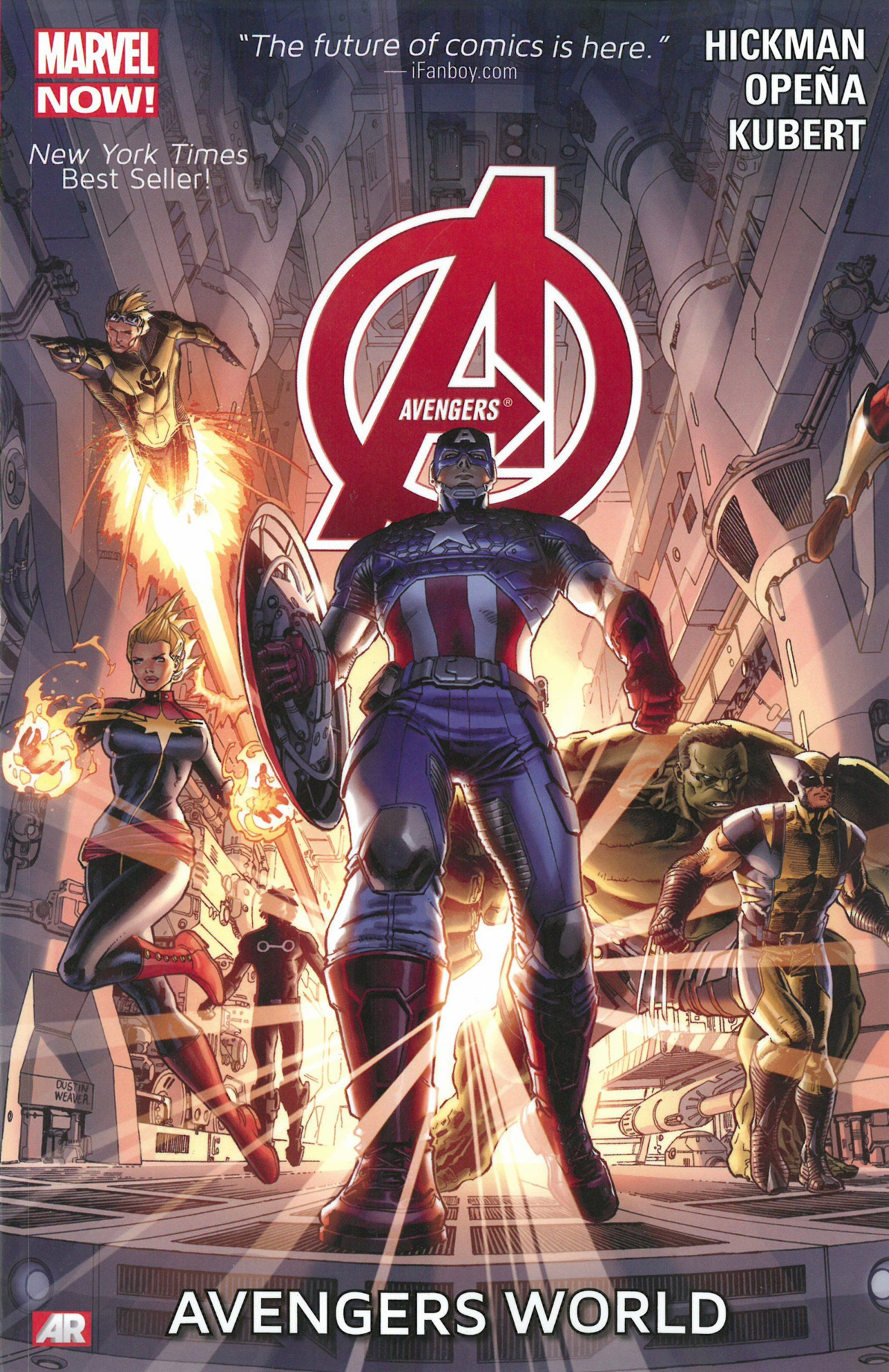 Your Reading Order Guide To Jonathan Hickman S Avengers Marvel Now Avengers Comic Books Avengers Comics