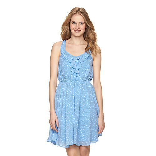 15b0fd6ee64 Disney s Alice in Wonderland a Collection by LC Lauren Conrad Ruffle Dress  – Women   .