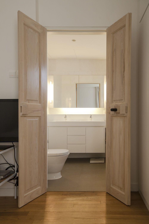 Fuur Wooden Double Doors Bathroom Doors Home