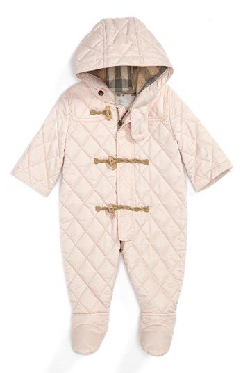 4965e4d54 Burberry Snowsuit (Baby Girls)