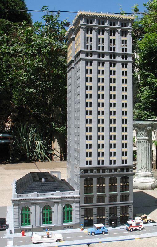 Archbrick Detroit Landmarks Minecraft Architecture Lego Architecture Minecraft Brick