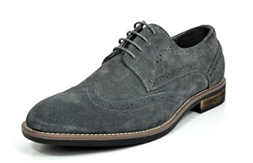 Bruno Marc Mens Urban Suede Leather Lace Up Oxfords Shoes