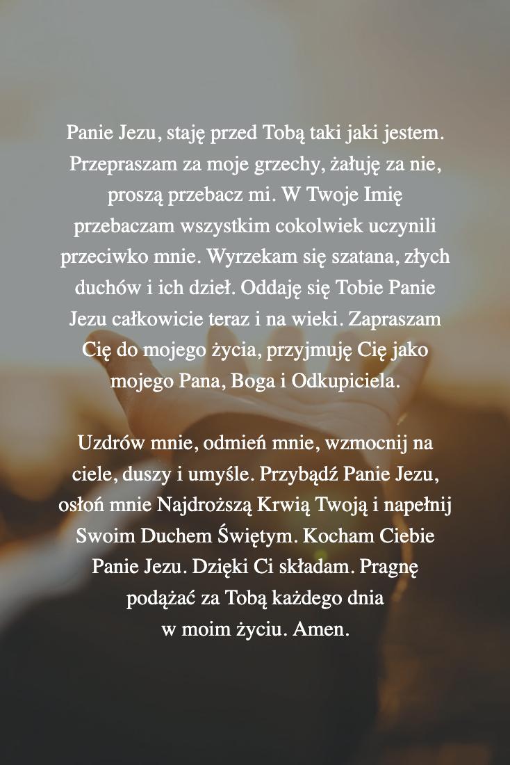 Modlitwa Dla Ciebie Na Dzis 1 Lipca Prayers For Healing Power Of Prayer Inspirational Quotes Motivation